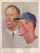 1964 Union 76 Nicholas Volpe Print Joe Moeller Portrait - Los Angeles Dodgers