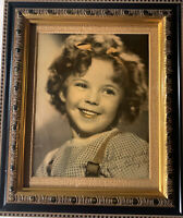 Shirley Temple Framed Signed 8 X 10 Child Star Actress Photo Photogragh
