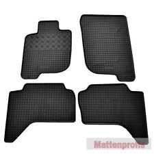 Fußmatten Auto Autoteppich passend für Mitsubishi L200 4 Türen 2006-2015