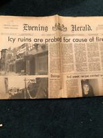 "Newspapers Featuring ""Mahanoy City, PA From February And September 1975 (Fire)"