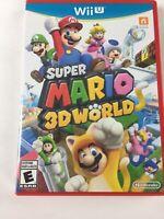 Wii U Super Mario 3D World Nintendo Game 2013