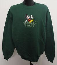 Mickey Mouse Mens Xl Crewneck Sweatshirt Disney Vintage Retro Vtg Name Stitch