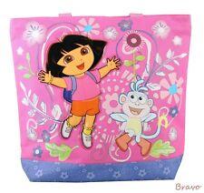 The New Dora the Explorer Women Girls Tote Bag Handbag Purse Shopper Pink Color