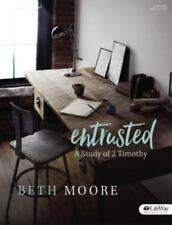 Entrusted - Bible Study Book : A Study of 2 Timothy by Beth Moore (2016,...