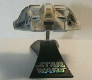 """Star Wars Titanium Diecast """"Luke's Snowspeeder"""" LOOSE"""