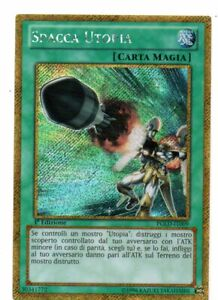 Yu Gi Oh Spacca Utopia PGLD-IT009 Oro Segreta Ita Near Mint