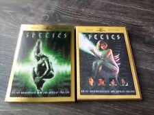 Species - limited 2 DVD Gold Edition - mit Schuber - uncut - wie neu