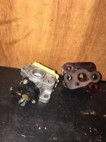 "Toro TB220 String Trimmer ""Carburetor &block"" For Parts/rebuild."
