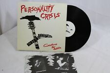 Personality Crisis Creatures For Awhile 1983 Risky Records RI-10005