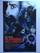 RUNNING SCARED movie poster PAUL WALKER poster - 11 x 17 inches