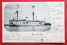AK Kaiserliche Marine 1901 Schiff S.M.S. MARS Schulschiff     ( 19812