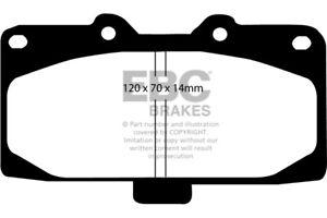 EBC YELLOW STUFF Set of Front Brake Pads for Nissan Skyline R32 R33 R34 DP41200