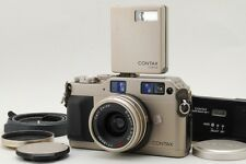 【Near Mint+++】 Contax G1 with Biogon 28mm f2.8 +GD-1 +TLA140 etc from Japan 201