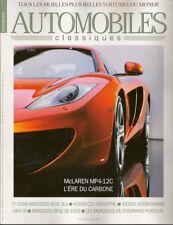 AUTOMOBILES CLASSIQUES 191 MERCEDES BENZ SLS AMG 2010 McLAREN MP4-12C AM DB4 GT