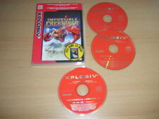 IMPOSSIBLE CREATURES + moto Madness 2 PC CD ROM Xp Une Rapide Post