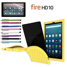 Kiddie Shock Proof Silicone Case Cover For All-New Amazon Fire HD 10 2019/2017