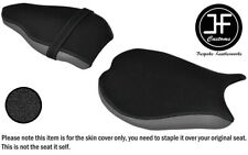 DSG3 GRIP & GREY VINYL CUSTOM FOR DUCATI 848 1098 1198 FRONT REAR SEAT COVERS