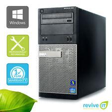 Custom Build Dell Optiplex 390 MT  i3-2100 3.10GHz Desktop Computer PC