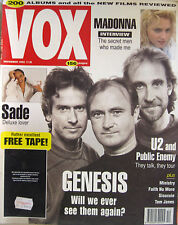 VOX 12 1992 Genesis Madonna Sade Faith No More Tom Jones Ministry Brian Eno U2