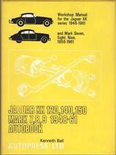 Jaguar XK120, XK140, XK150, MK7, MK8, MK9 Owners Workshop Manual 1948-1961