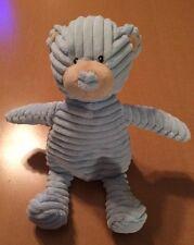 Unipak Light Blue Striped Bear Plush Rattle