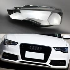 For Audi A5 2012 2013 2014 2015 2016 Car Headlamp Clear Lens Auto Shell Cover