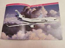 McDonnell MD-12 MD-11 Aircraft Airliner Brochure 1993