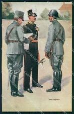 Military Soldiers Royal Dutch Army Van Oorschot 9 cartolina XF9179