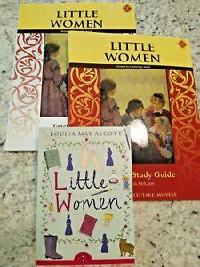 Little Women Literature Set; Teacher, Workbook, & Novel by Memoria Press  SALE!!