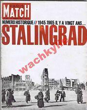 Paris Match n°824 du 23/01/1965 spécial bataille de Stalingrad ww2