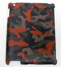 NWT COACH Heritage Signature iPad Case F64219 CAMO BROWN ORANGE  $128