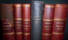 Helmholtz  Vorlesungen über Theoretische Physik 6V 1stEd Theoretical Physics