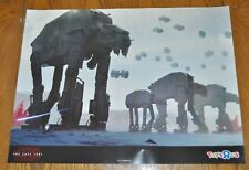 Star Wars The Last Jedi 24 x 18 Poster TRU Exclusive Force Friday AT-AT 2017 NEW