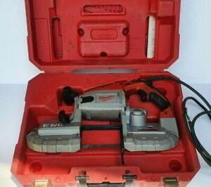 MILWAUKEE 6230N Deep Cut Bandsaw 120 Volt, Speed: 0-420 sfpm Variable