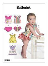 Sewing Pattern! Make Baby Girl Ruffled Top~Dress~Panties! Summer Clothes 8~29 Lb