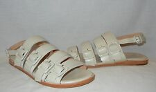 FIEL Women's Negra Leather Strappy Sandals Retail $145 Size 8.5