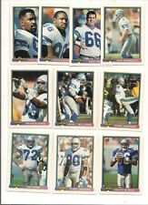 1991 Bowman Seattle Seahawks Football Card Team Set (19 Different)