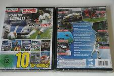 10 Top Spiele Games  in einem Paket!  (PC-DVD)    Neu   New