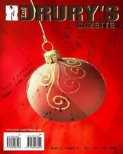 The Drury's Gazette : Issue 4, Volume 3 - October / November / December 2008...