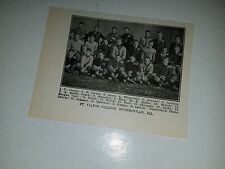 St. Viator College Bourbonnais Illinois 1911 Football Picture