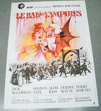 Affiche de cinéma : LE BAL DES VAMPIRES de ROMAN POLANSKI