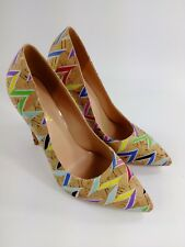 New  Size 10 Women's High Heels with4.75 Inches Heel. Colour Muti Colour