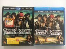 Pirates of the Caribbean: On Stranger Tides (3D/2D Blu-ray/DVD, 2011, 5-Disc Set
