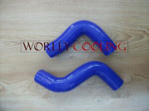 BLUE silicone radiator hose kit for Subaru Forester SF 1998-2002 1999 2000 2001