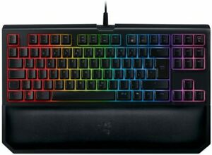 NEW AND SEALED*RAZER BLACKWIDOW Tournament Ed Chroma-V2 Keyboard Yellow Switches
