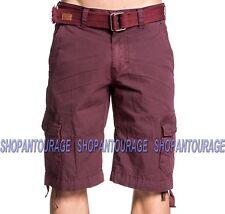 Affliction Sumner 110WS153 New Fashion Cargo Shorts For Men :Belt Included