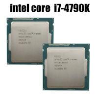 Intel Core i7-4790K 4.00 GHz Quad-Core LGA1150 SR219 CPU Processor USED CPU OLD