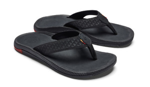 Olukai Halo Black/HLA Sandal Flip Flop Men's US sizes 7-15 NEW!!!