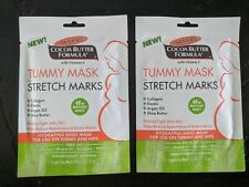 2 Pack Palmers Cocoa Butter Formula Tummy Mask Stretch Mark Pregnancy Sheet Mask
