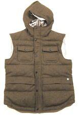 $425 Mens Hunter Boot Company Vintage Shetland Wool Puffer Vest sz M